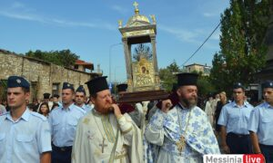 Η Μεσσήνη υποδέχτηκε την εικόνα της Παναγίας Βουλκανιώτισσας