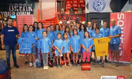 Η Oλυμπιονίκης Νίκη Μπακογιάννη στην Ημερίδα του ΑΚΡΙΤΑ στο Στάδιο Καλαμάτας