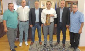 Σε Δήμαρχο Καλαμάτας και Αντιπεριφερειάρχη η Διοίκηση του Επιμελητηρίου Μεσσηνίας