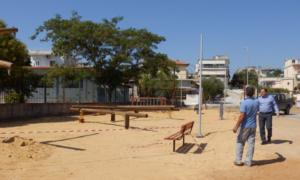 Προχωρούν οι εργασίες για παιδική χαρά στο Φραγκοπήγαδο