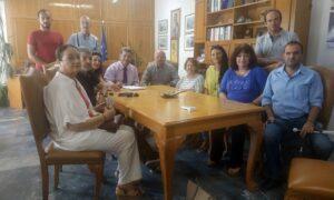 Tα προβλήματα της Περιφερειακής Ομοσπονδίας ΑμεΑ Πελοποννήσου άκουσε ο Αναστασόπουλος