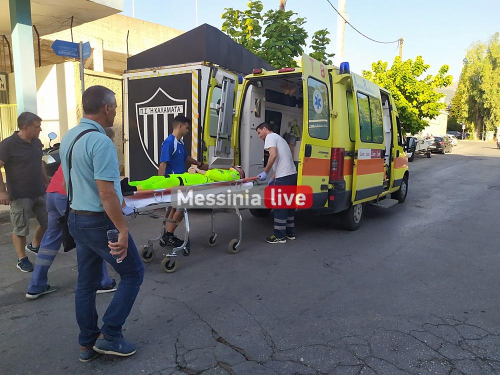 ΠΣ Καλαμάτα: Στο Νοσοκομείο μετά απο τραυματισμό ο Κασωτάκης