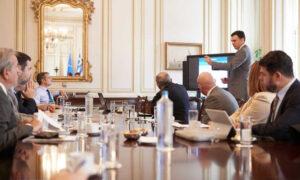 Σύσκεψη στο Μέγαρο Μαξίμου για την εφαρμογή του αντικαπνιστικού νόμου