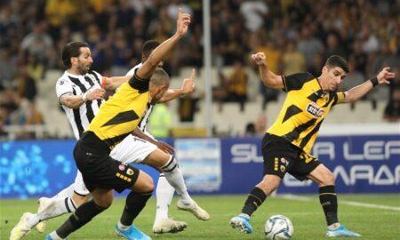 Super League: Ματσάρα στο ΟΑΚΑ και ΑΕΚ-ΠΑΟΚ 2-2 (βίντεο)