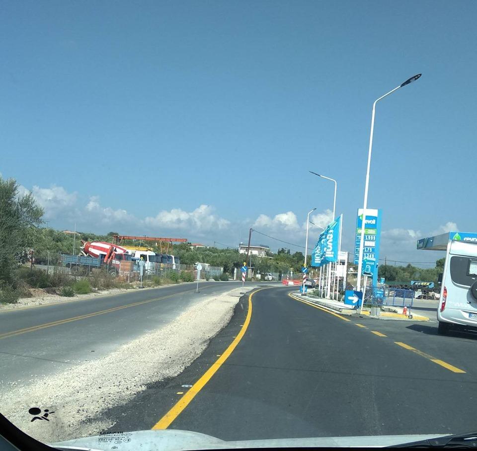 Αυτοψία Αναστασόπουλου στο έργο βελτίωσης του δρόμου Ριζόμυλος – Κορώνη