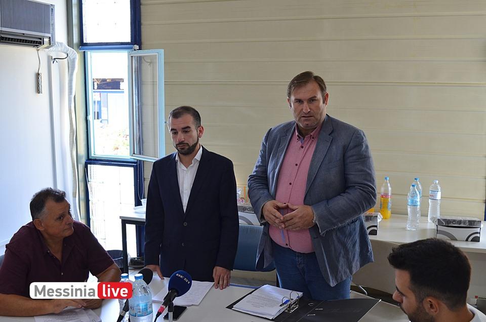 ΔΙΟΚΛΗΣ ΑΕ: Συγκινημένος παρέδωσε ο Φάβας στον Σκοπετέα
