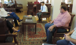 ATM στην Κοινότητα Άριος ζήτησε ο Βασιλόπουλος από στελέχη της Εθνικής Τράπεζας