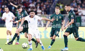 Ιταλία- Ελλάδα 2-0: Βελτιωμένη αλλά ξανά ηττημένη