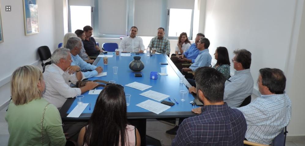 """Με το νέο ΔΣ της """"Φάρις"""" συναντήθηκε ο Δήμαρχος Καλαμάτας"""