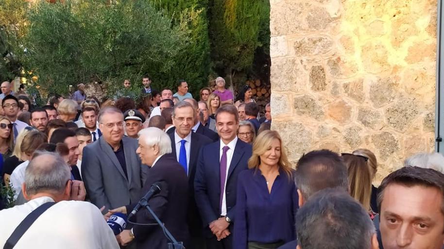 Καρδαμύλη: Πλήθος κόσμου στα εγκαίνια της ανακαινισμένης Οικίας του Πάτρικ Λη Φέρμορ