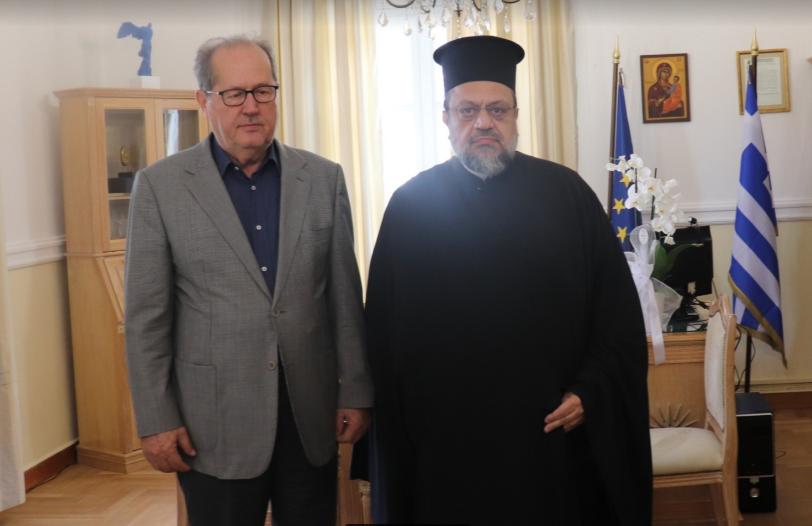 Στον Νίκα ο Χρυσόστομος Μεσσηνίας: Στο ΕΣΠΑ Πελοποννήσου η δημιουργία Μουσείου Χριστιανικής Τέχνης της Μητρόπολης
