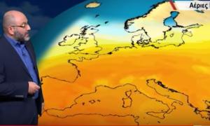 Τι είναι ο θηριώδης αντικυκλώνας που θα καλύψει την Ελλάδα-Η ζέστη επιστρέφει