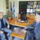 Καρδαμύλη: Συνάντηση Θεοδωρικάκου με Γιαννημάρα στο Δημαρχείο Δυτικής Μάνης