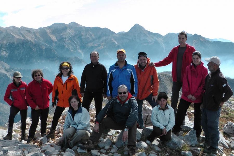 Ορειβατικός Καλαμάτας: Ανάβαση στο Τραγοβούνι (1.908μ.)