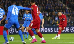 Champions League: Τεσσάρα η Λίβερπουλ, η Ίντερ 2-0 την Ντόρτμουντ