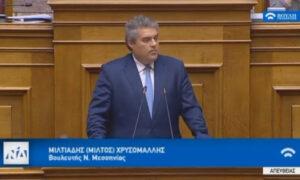 Χρυσομάλλης: Η πολιτική ωρίμανση του ΣΥΡΙΖΑ στο θέμα της ΔΕΗ κόστισε 2,5 δισεκατομμύρια στον έλληνα φορολογούμενο