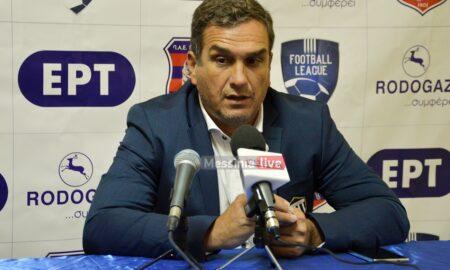 Βούζας: Δεν ανταποκριθήκαμε στις απαιτήσεις του ματς- Τραβηγμένη η αποβολή