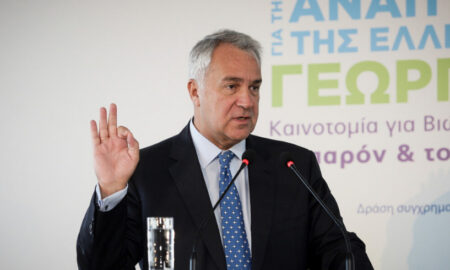 Στην Καλαμάτα σήμερα ο Υπουργός Αγροτικής Ανάπτυξης Μάκης Βορίδης