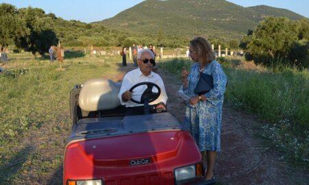 Τιμητική εκδήλωση για τον Καθηγητή Πέτρο Θέμελη στο Νέο Ηράκλειο