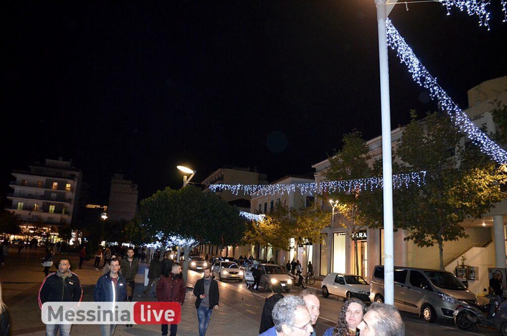 Xριστούγεννα στην Καλαμάτα: Νέος στολισμός παντού και συμμετοχή των δημοτών σε διαγωνισμούς