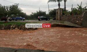 Πανελλαδικό ρεκόρ: 153,4 χιλιοστά βροχής στα Αρφαρά