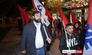 ΠΑΜΕ: Συλλαλητήριο στην Πλατεία 23ης Μαρτίου κατά την συμφωνία για τις βάσεις