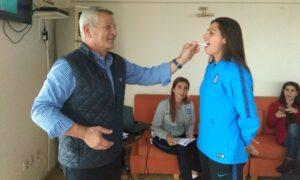 Εθελόντριες δότριες μυελού των οστών όλες οι αθλήτριες της Εθνικής Ελλάδος ποδοσφαίρου
