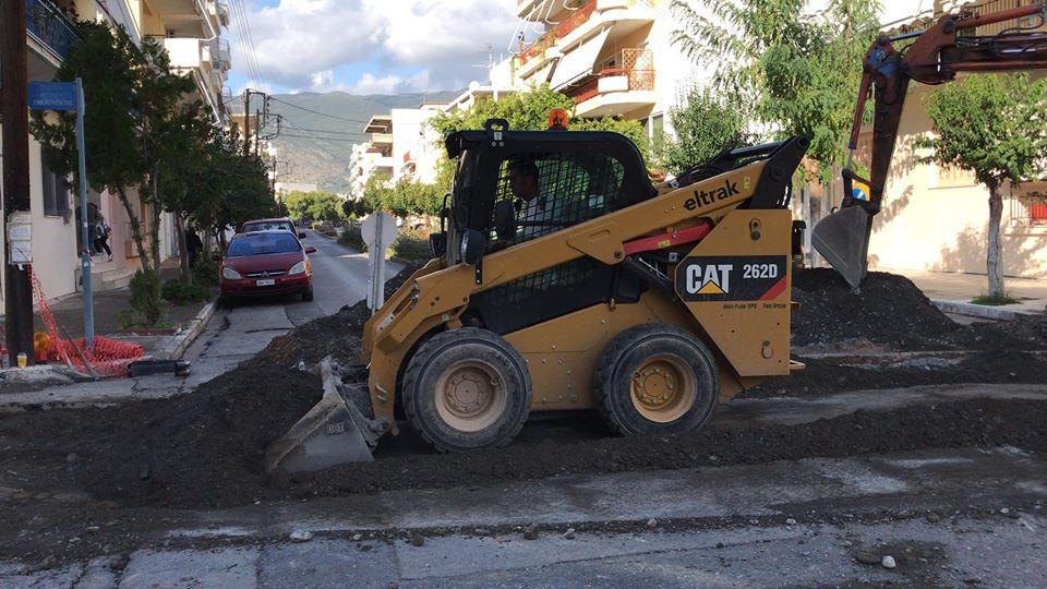 ΔΕΥΑΚ: Συνεχίζονται τα έργα ομβρίων στο Νησάκι
