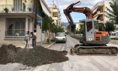 Έργα ομβρίων στο Νησάκι: Σκαψίματα για να εντοπιστούν τυχόν άλλοι αγωγοί και να αποφευχθούν ζημιές