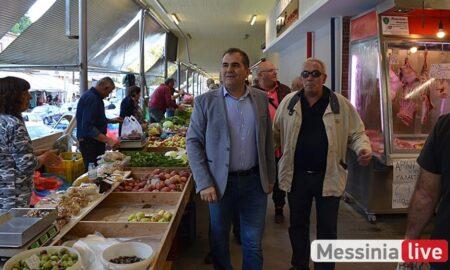 Βασιλόπουλος: Θα αναβαθμίσουμε ενεργειακά και αισθητικά την Κεντρική Αγορά Καλαμάτας