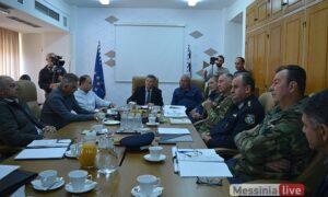 Συνεδρίασε το Συντονιστικό Όργανο Πολιτικής Προστασίας – Επικεντρώθηκε στα ρέματα και τα αντιπλημμυρικά έργα