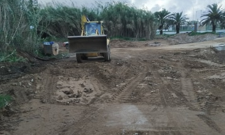 Δήμος Τριφυλίας: Ολοκληρώνονται οι εργασίες αποκατάστασης του παραλιακού δρόμου στον Αγρίλη