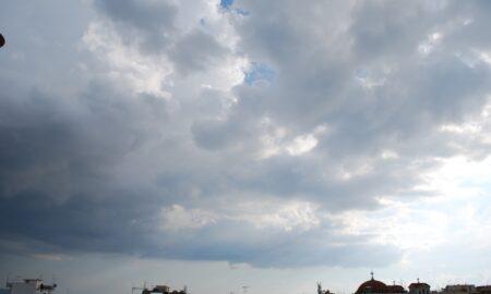 Συννεφιά, τοπικές βροχές και καταιγίδες από το βράδυ