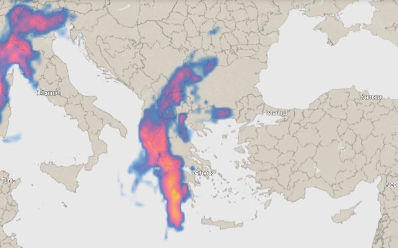 Επιδείνωση του καιρού: Πως θα κινηθεί η κακοκαιρία