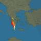 Σφοδρή καταιγίδα τώρα στην Καλαμάτα