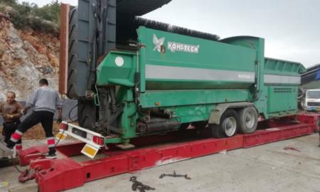 Μαραθόλακκα: Εγκαταστάθηκε νέος μηχανολογικός εξοπλισμός για τη διαχείριση των σκουπιδιών