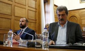 Προανακριτική: Αναβλήθηκε η συνεδρίαση – Αρνήθηκαν να αποχωρήσουν Τζανακόπουλος και Πολάκης