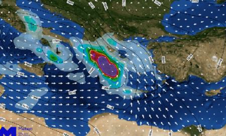 """""""Γηρυόνης"""": Έρχεται νέα κακοκαιρία από αύριο σε 3 φάσεις-Η Μεσσηνία στις περιοχές που θα """"χτυπήσει"""" τη Δευτέρα"""