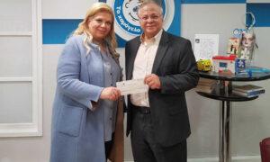Η Κλέλια Χατζηιωάννου πλήρωσε τον ΕΝΦΙΑ στο «Χαμόγελο του Παιδιού»