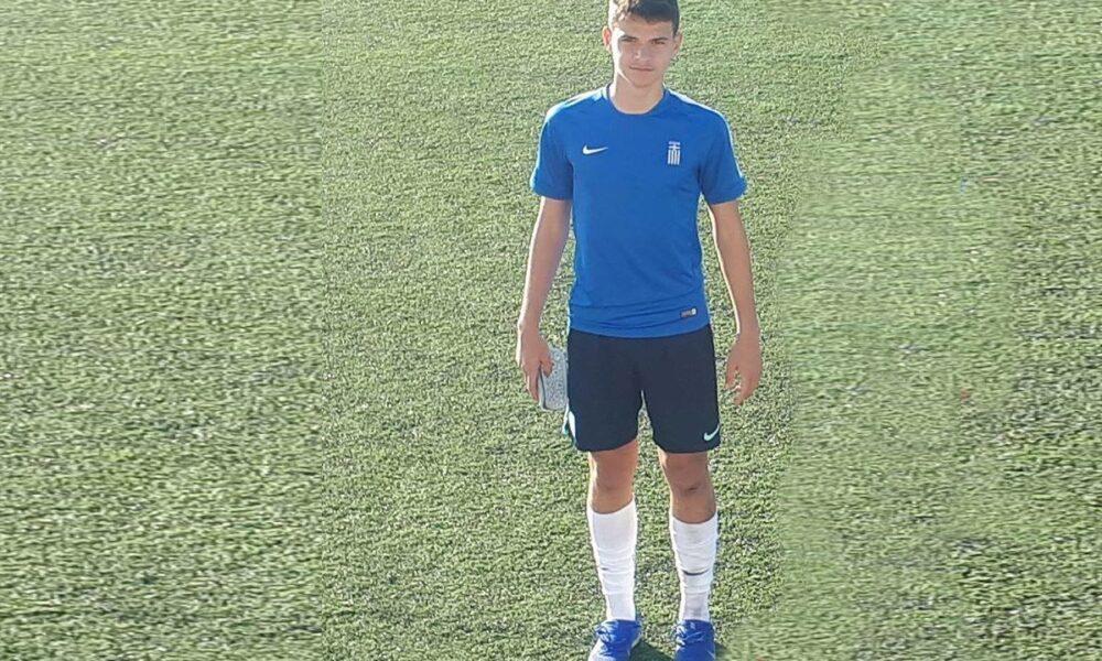 Κλήθηκε στην Εθνική Παίδων ο 14χρονος καλαματιανός Δημήτρης Λάσκαρης