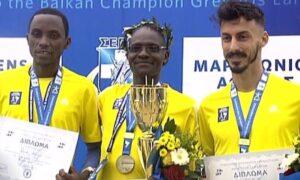 37ος Αυθεντικός Μαραθώνιος: Νικητής ο 42χρονος Κενυάτης, Κόμεν, στην τρίτη θέση ο Κώστας Γκελαούζος
