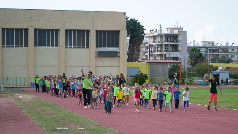 Μεσσηνιακός: 250 παιδιά στην ημερίδα στίβου στο Δημοτικό στάδιο