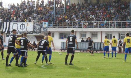 Football League: Κορυφή η Ιεράπετρα, υποχώρησε στην 8η θέση η Καλαμάτα