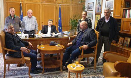 Πάμισος Μεσσήνης: Συνάντηση με τον αντιπεριφερειάρχη Στάθη Αναστασόπουλο