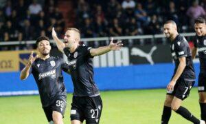 """Super League: Άλωσε το Γεντί Κουλέ ο ΠΑΟΚ (0-1), """"ανάσταση"""" Βόλου (βίντεο)"""