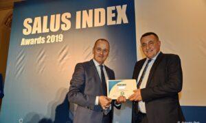 Salus Index Awards 2019: Διάκριση και βράβευση του Καθηγητή Π.Χαλβατσιώτη