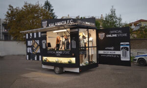 KALAMATA FC Road Store by COSMOS Καλαμάτας