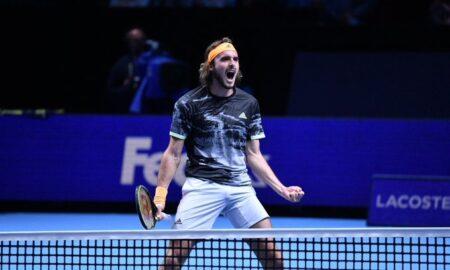 ATP Finals: Σαρωτικός Στέφανος, διέλυσε 2-0 τον Ζβέρεφ και πήρε την πρόκριση στα ημιτελικά