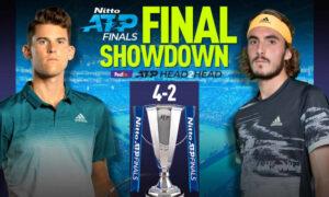 Έτοιμος να γράψει ιστορία ο Τσιτσιπάς: Με τον Τιμ στον τελικό του ATP Finals