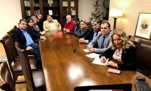 Καλαμάτα-Lowell: Ξεκίνησε η διαδικασία αδελφοποίησης με 50 λεπτη τηλεδιάσκεψη